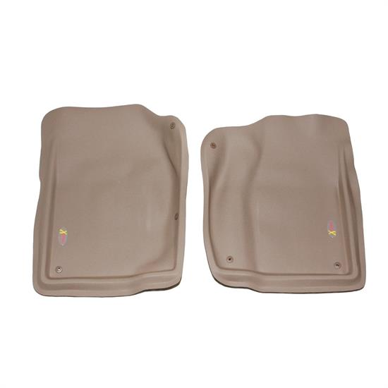 LUND 403012 Catch-All Xtreme Floor Mat 2 pc Front Tan, Dodge
