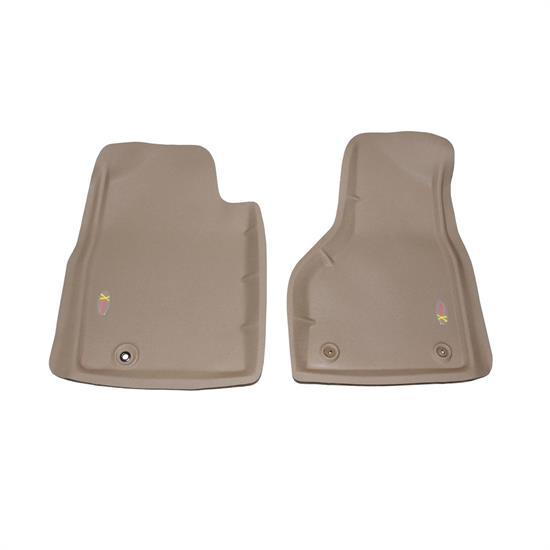 LUND 403912 Catch-All Xtreme Floor Mat 2 pc Front Tan, Dodge