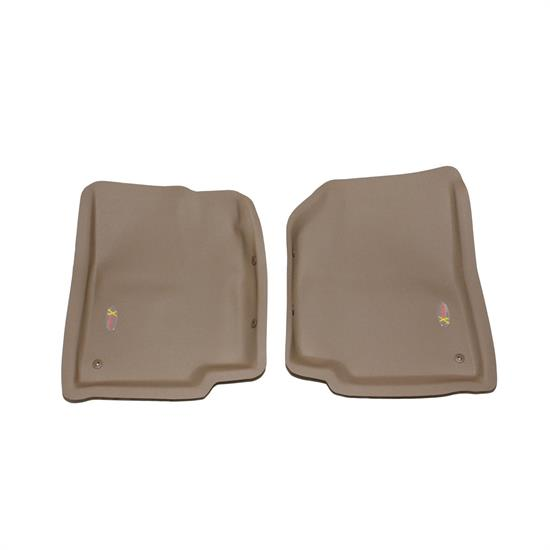 LUND 404412 Catch-All Xtreme Floor Mat Front Tan 87-95 Wrangler