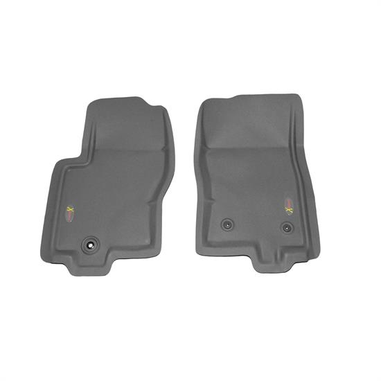 LUND 404502 Catch-All Xtreme Floor Mat 2 pc Front Gray, Nissan