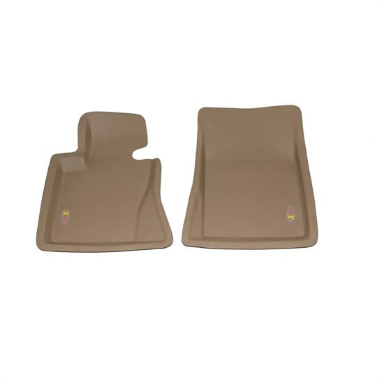 LUND 4060312 Catch-All Xtreme Floor Mat Front Tan, 2008-09 BMW X3