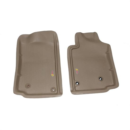 LUND 406612 Catch-All Xtreme Floor Mat 2 pc Front Tan, Tacoma