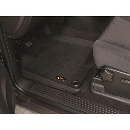 LUND 406801 Catch-All Xtreme Floor Mat 2 pc Front Black, F-150