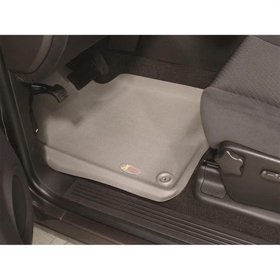 LUND 406902 Catch-All Xtreme Floor Mat 2 pc Front Gray, F-150