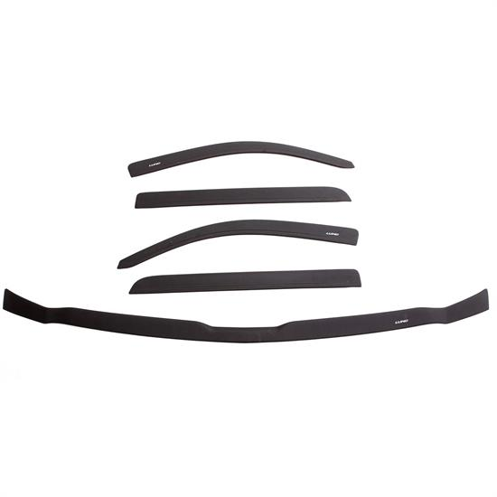LUND 44044096 Ventvisor/BugShield Combo Textured 15-18 F150