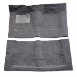 LUND 45011 Pro-Line Carpet Gray Full Floor F/R, Pickup/D21
