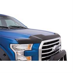 LUND 538096 Hood Defender Hood Shield Smoke, 2015-18 Ford F-150