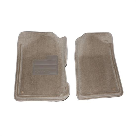 LUND 600125 Catch-All Floor Mat 2 pc Front Beige, Chevy/GMC