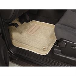 LUND 600453 Catch-All Floor Mat 2 pc Front Beige, Chevy/GMC