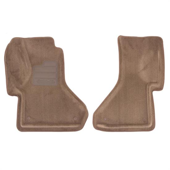 LUND 600925 Catch-All Floor Mat 2 pc Front Beige, Astro/Safari