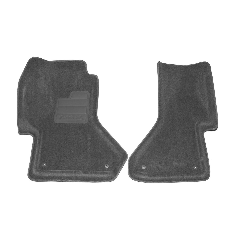 Lund 283007-G Catch-It Vinyl Grey Front Seat Floor Mat Set of 2