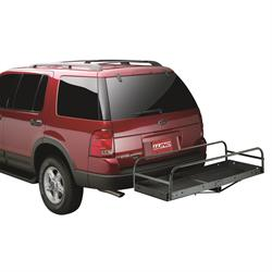 LUND 601008 Cargo Side Bar Attachment Hitch Mounted Cargo Carrier