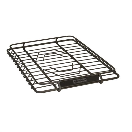 LUND 601011 Roof Rack Cargo Basket 39 in x 44 in Black