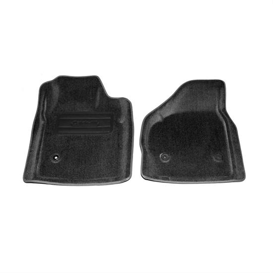 LUND 6020149 Catch-All Floor Mat 2 pc Front Black, Ford