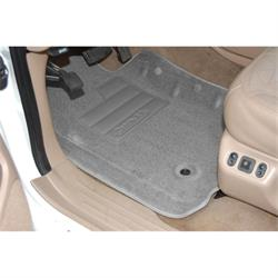 Set of 2 Lund 603571 Catch-All Carpet Gray Front Floor Mat