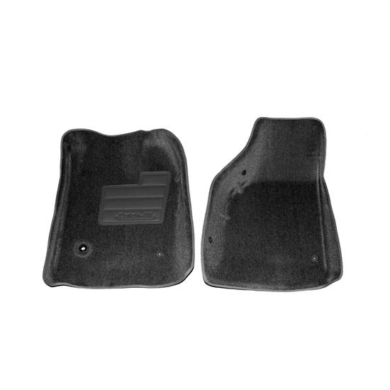LUND 602649 Catch-All Floor Mat 2 pc Front Black, Ford