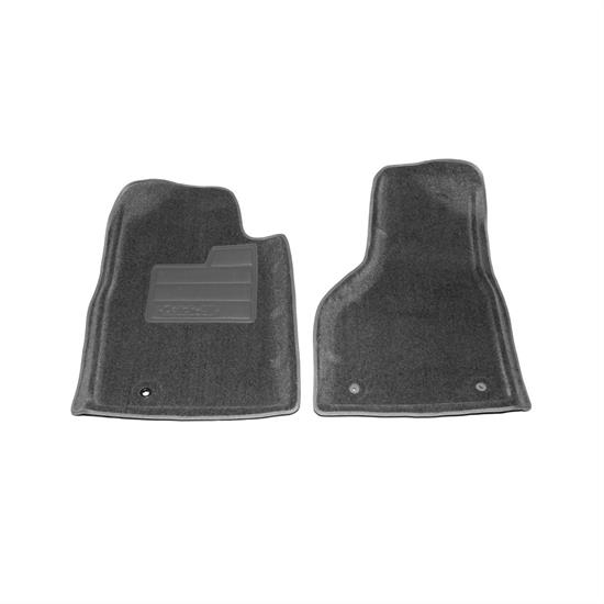 LUND 603976 Catch-All Floor Mat 2 pc Front Slate Gray, Dodge