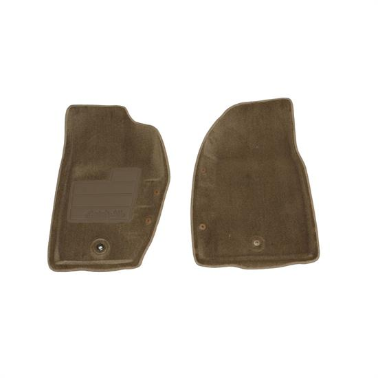 LUND 604033 Catch-All Floor Mat 2 pc Front Beige, 95-01 Cherokee