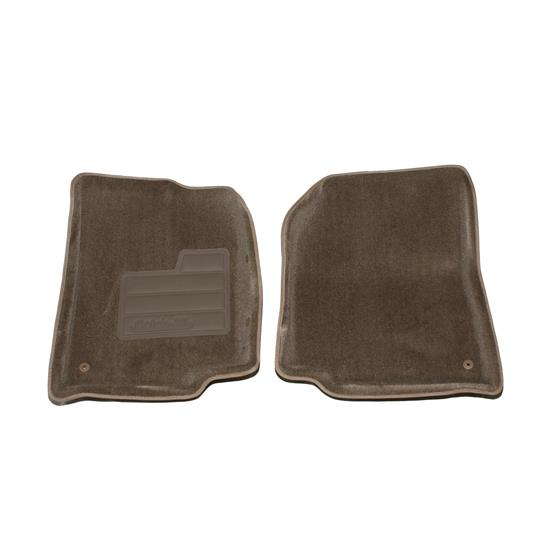 LUND 604433 Catch-All Floor Mat 2 pc Front Beige, 87-95 Wrangler