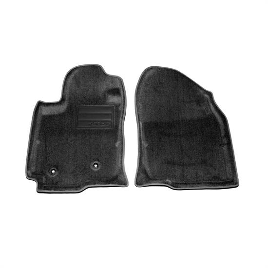 LUND 604931 Catch-All Floor Mat Front Black, 2006-10 Toyota Rav4