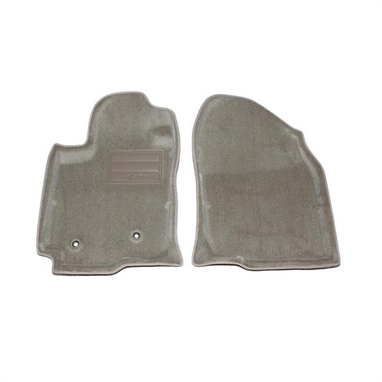 LUND 604946 Catch-All Floor Mat 2 pc Front Tan, 06-10 Toyota Rav4
