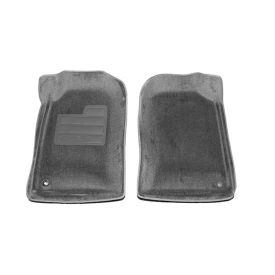 LUND 605124 Catch-All Floor Mat Front Gray, 1996-04 Toyota Tacoma