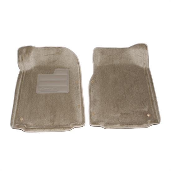LUND 605235 Catch-All Floor Mat 2 pc Front Beige, Tundra