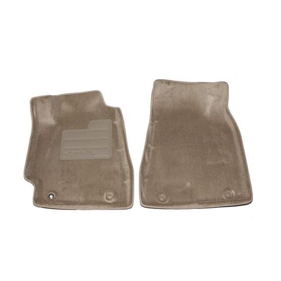 LUND 605325 Catch-All Floor Mat 2 pc Front Beige, Highlander