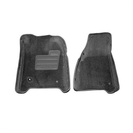 LUND 605749 Catch-All Floor Mat 2 pc Front Black, Ford