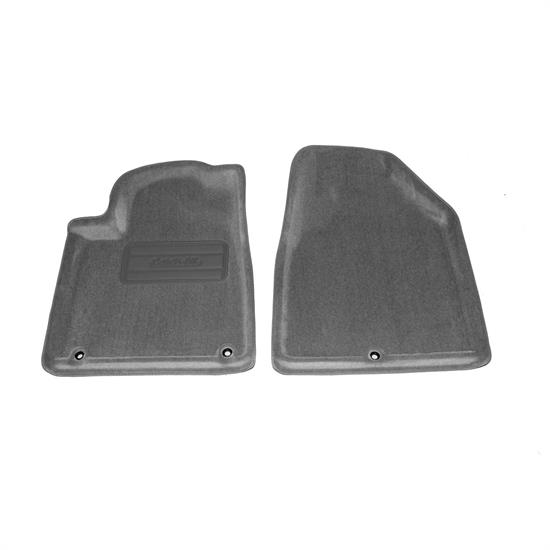 LUND 6060137 Catch-All Floor Mat 2 pc Front Gray, 08-10 Acura MDX