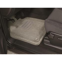 LUND 6060378 Catch-All Floor Mat 2 pc Front Gray, 2008-09 BMW X3
