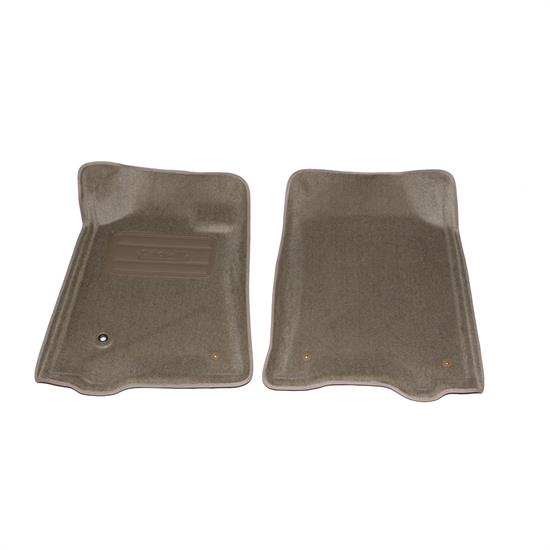 LUND 606246 Catch-All Floor Mat 2 pc Front Beige, Tundra