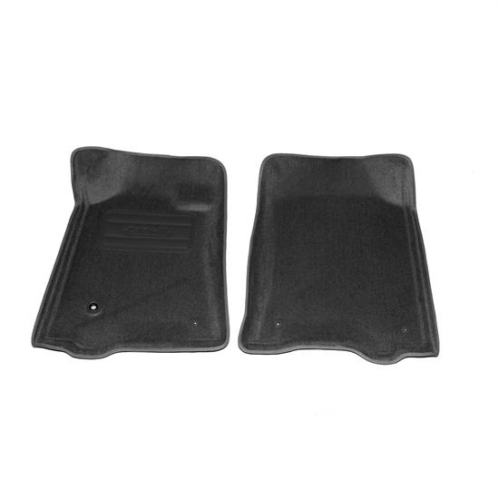 LUND 606252 Catch-All Floor Mat 2 pc Front Gray, Tundra