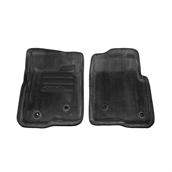 LUND 606370 Catch-All Floor Mat 2 pc Front Black, F-150