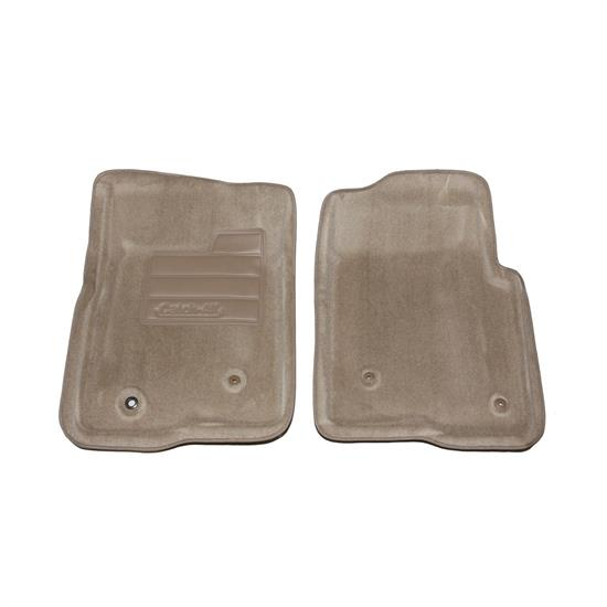 LUND 606372 Catch-All Floor Mat 2 pc Front Beige, F-150