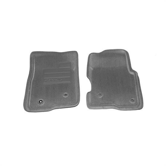 LUND 606471 Catch-All Floor Mat 2 pc Front Gray, F-150