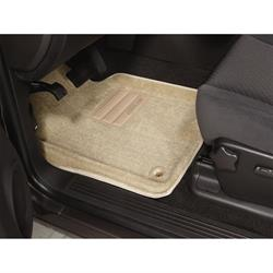 LUND 606672 Catch-All Floor Mat 2 pc Front Beige, Tacoma