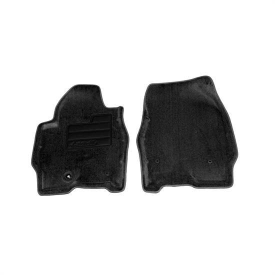 LUND 607249 Catch-All Floor Mat 2 pc Front Black, Escape/Tribute