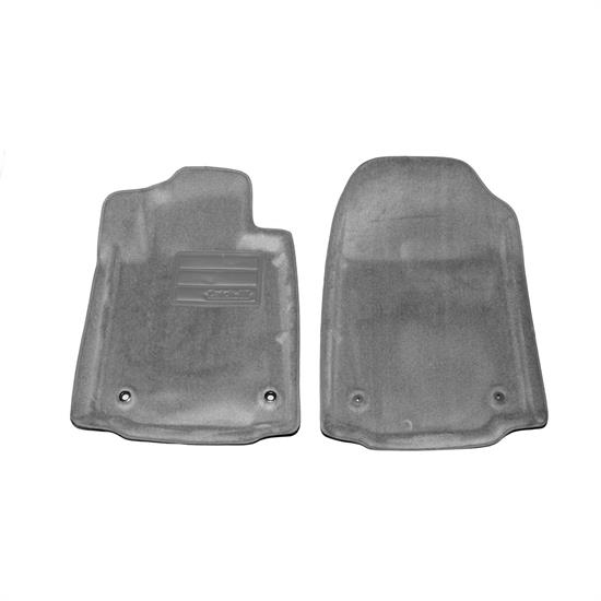 LUND 6080038 Catch-All Floor Mat 2 pc Front Gray, Tundra