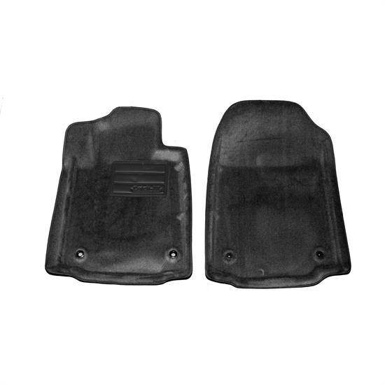 LUND 6080049 Catch-All Floor Mat 2 pc Front Black, Tundra