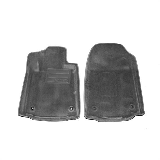 LUND 6080078 Catch-All Floor Mat 2 pc Front Gray, 08-08 Sequoia