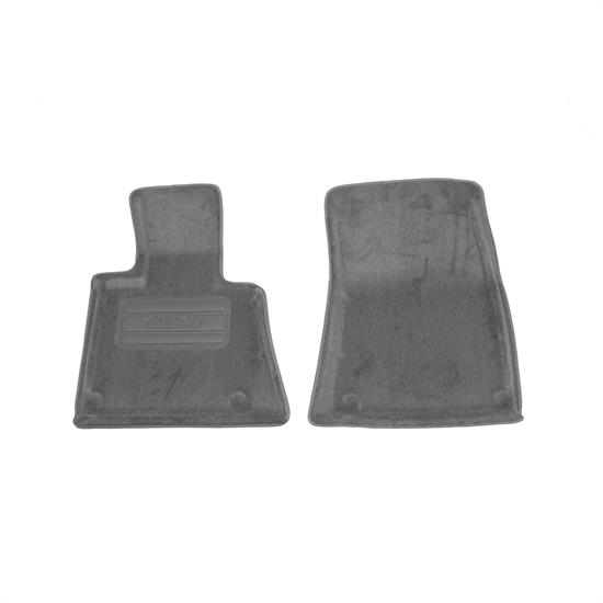 LUND 608330 Catch-All Floor Mat 2 pc Front Gray, 2002-06 BMW X5