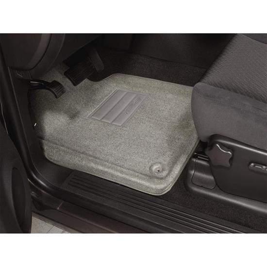 LUND 608843 Catch-All Floor Mat 2 pc Front Gray, Titan