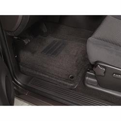 LUND 608861 Catch-All Floor Mat 2 pc Front Black, Armada/Titan