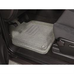 LUND 609076 Catch-All Floor Mat 2 pc Front Gray, 05-10 Commander