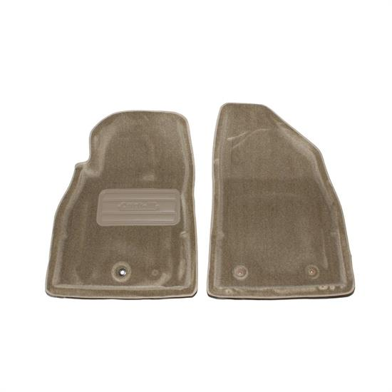 LUND 609367 Catch-All Floor Mat 2 pc Front Beige, 06-08 Chevy HHR