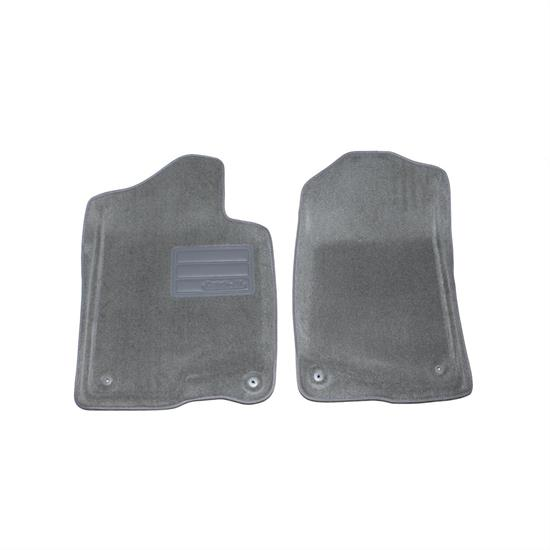 LUND 609580 Catch-All Floor Mat 2 pc Front Gray, Chevy/GMC