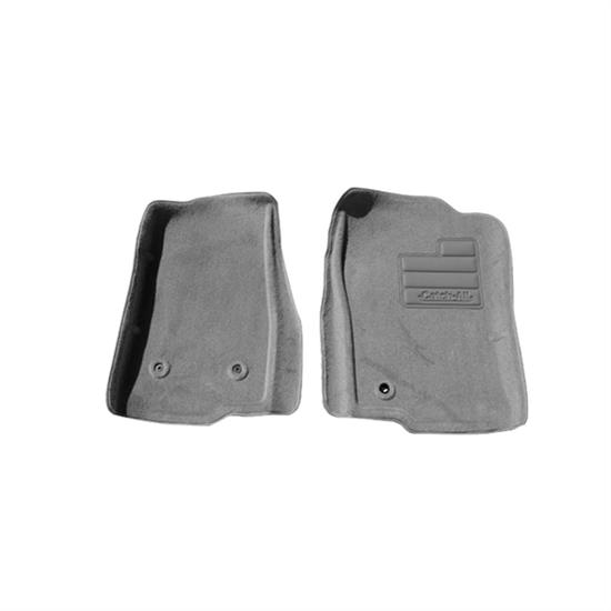 LUND 609843 Catch-All Floor Mat 2 pc Front Gray, Ford/Lincoln