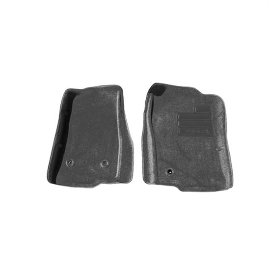 LUND 609849 Catch-All Floor Mat 2 pc Front Black, Ford/Lincoln