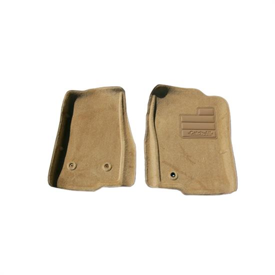 LUND 609875 Catch-All Floor Mat 2 pc Front Beige, Ford/Lincoln